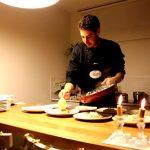 שף פרטי נתאי - הגשת מנה ראשונה לחגיגות יום הולדת