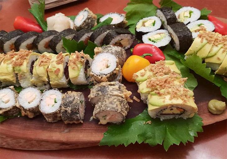 שף פרטי עידן רון - פלטת סושי