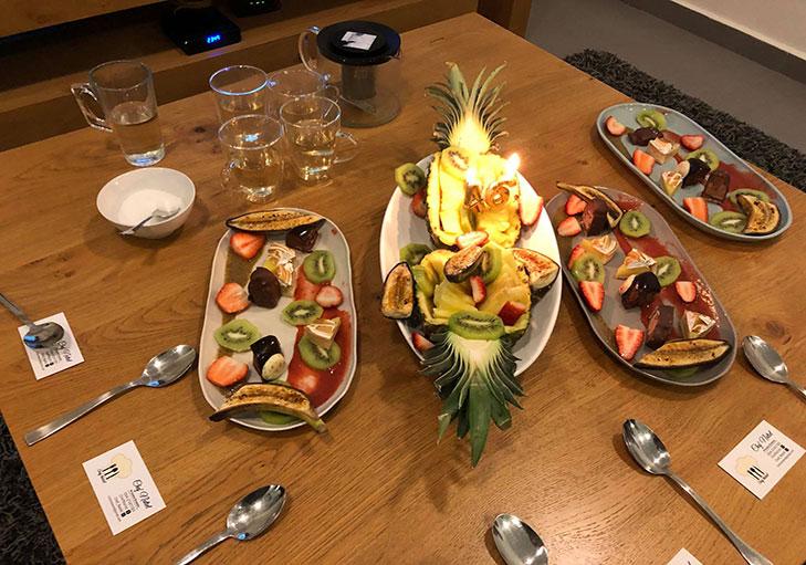 שף פרטי נתיאל - קינוח מפנק לחגיגות יום הולדת