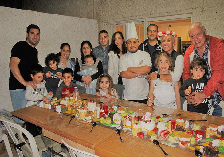 שף פרטי ראול רודריגז - תמונה מחגיגות יום הולדת שף ראול רודירגז