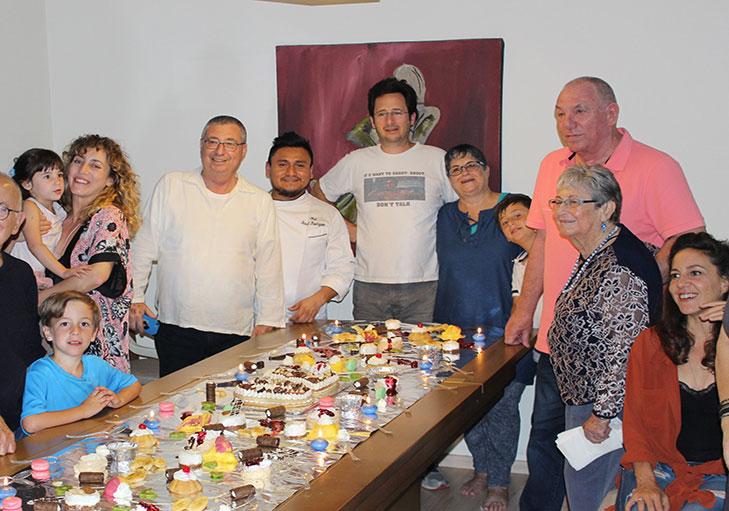 שף פרטי ראול רודריגז - אירוע משפחתי שף פרטי ראול רודריגז