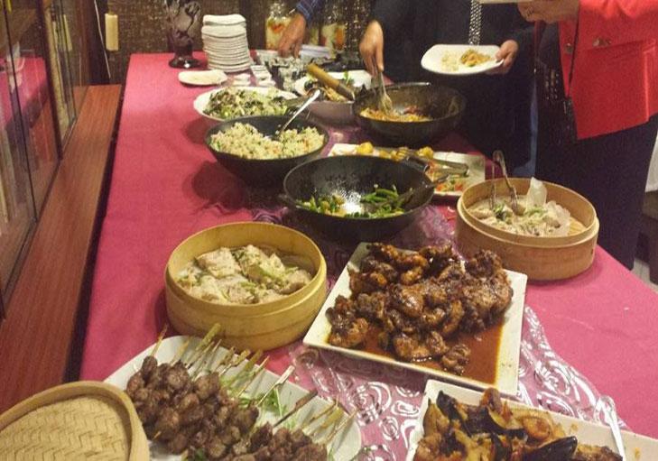 שף פרטי גיא רוזן - בופה עשיר, בשרים, כיסונים, מוקפץ וסלטים
