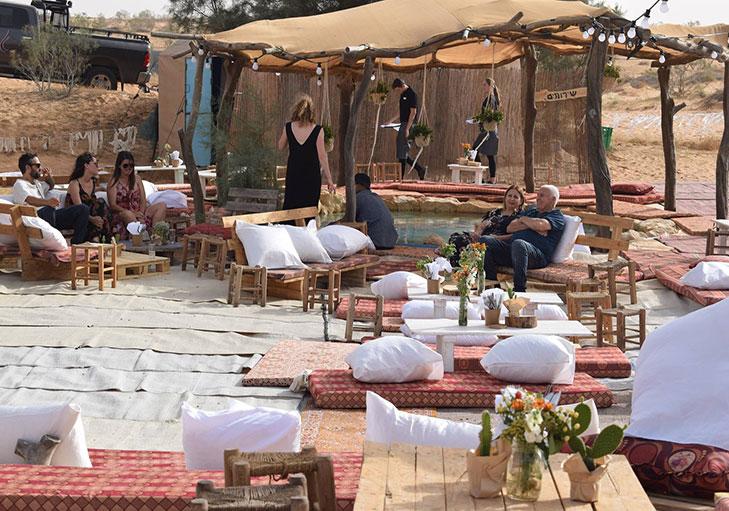 שף פרטי מאיר קרנש - תמונה מאירוע בשטח, מאיר קרנש שף פרטי
