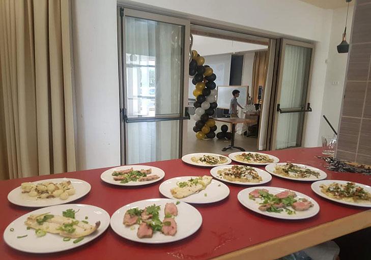 שף פרטי מאור נתן - מבחר מטעמים באירוע פרטי