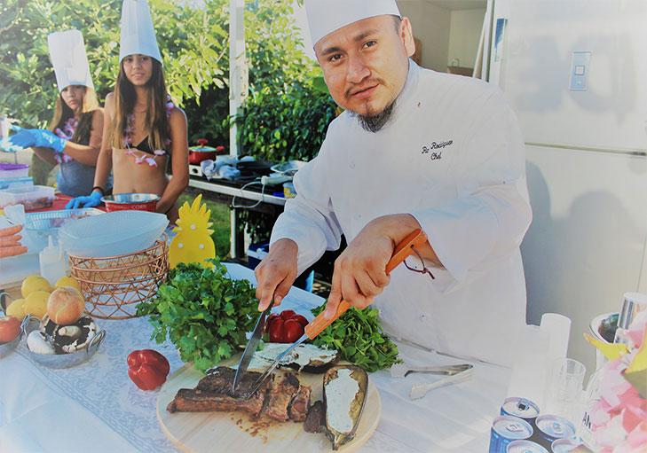 שף פרטי ראול רודריגז - מסיבת רווקות עם שף ראול רודריגז