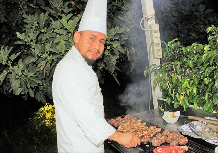 שף פרטי ראול רודריגז - ברביקיו עם השף ראול רודריגז