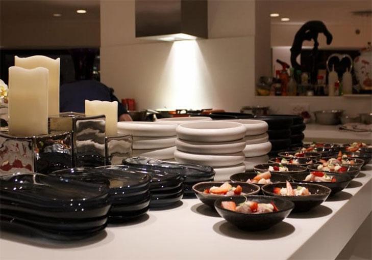 שף פרטי נועם כרמון - תצוגת מנות באירוע
