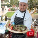 שף פרטי ראול רודריגז - חתיכות אנטריקוט עם רוטב צ'ימיצ'ורי