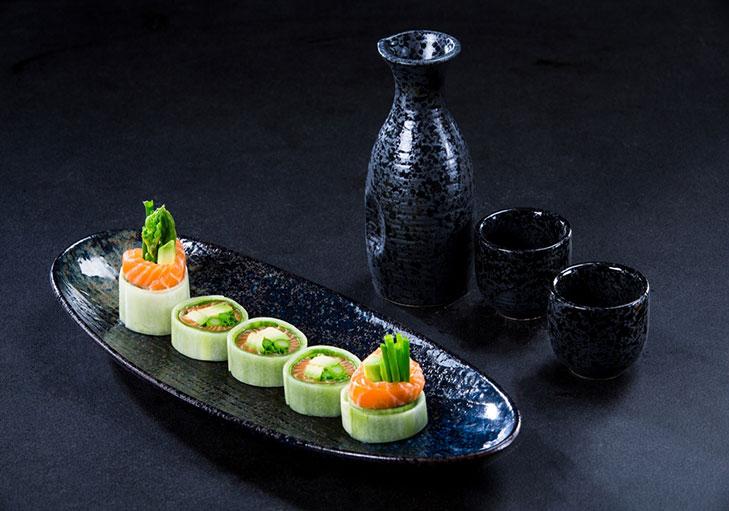 שף שלמי שלו - מנת סושי עשירה