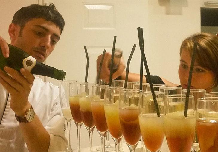 שף פרטי מאור נתן - חגיגות יום הולדת עם קוקטיילים