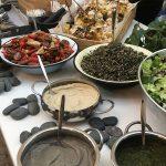 שף פרטי יניב טרנטו - בופה סלטים בחתונה