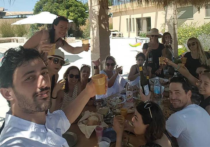 שף פרטי מאור נתן - הרמת כוסית באירוע שף פרטי