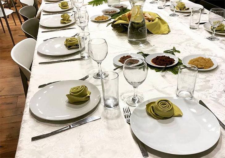 שף פרטי מאור נתן - עריכת שולחן לחתונה