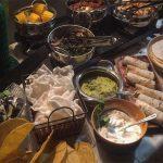שף פרטי יניב טרנטו - מבחר מנות וסלטים באירוע