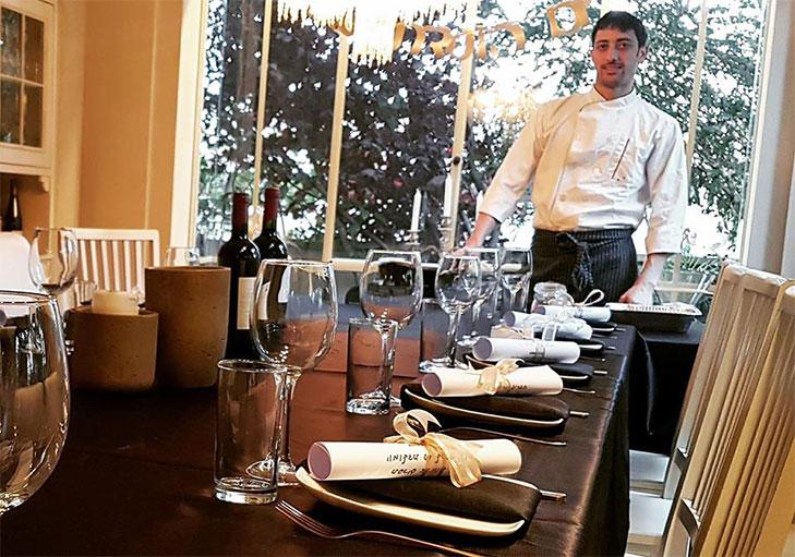 שף פרטי מאור נתן - מתכוננים לסדנה וארוחת שף מפנקת