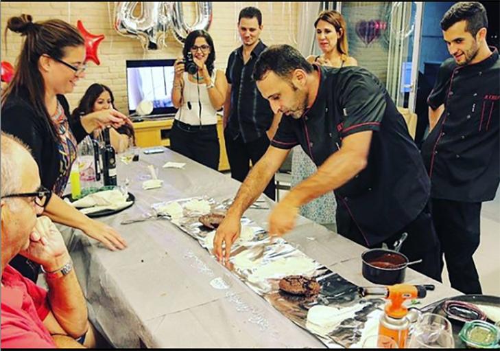 שף פרטי רם חכם - חגיגות יום הולדת באירוע שף פרטי