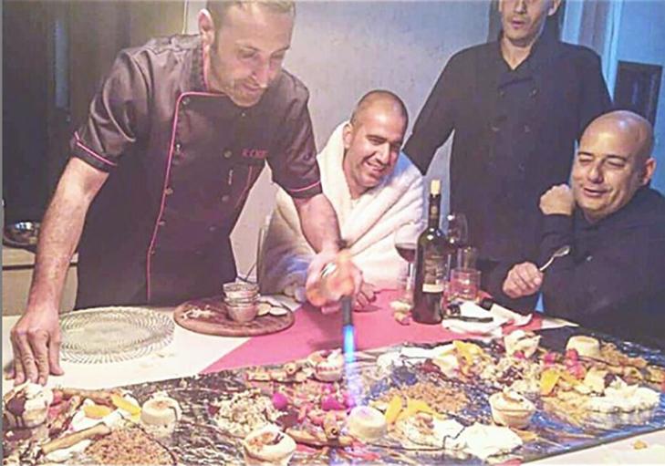 שף פרטי רם חכם - קינוחים מתוקים באירוע שף פרטי