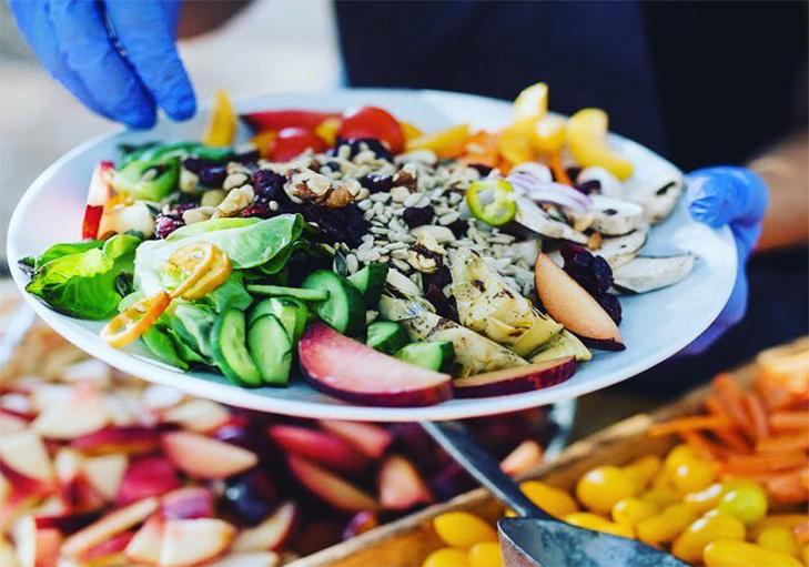 שף פרטי מאיר קרנש - סלט בריאות